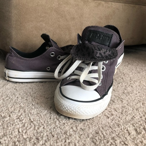 Converse Shoes - Grayish Purple Converse All Star Double Tongue 9a8090c30